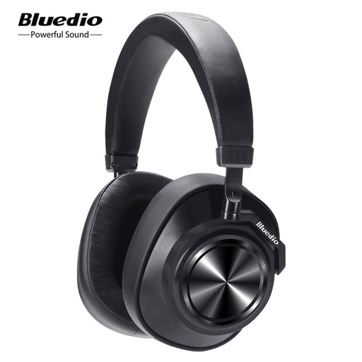 Bluedio T7 ANC Bluetooth Headphones - Cards and Gadgets