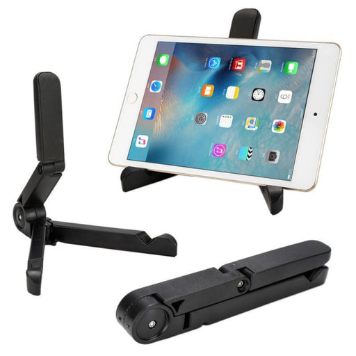 Universal Foldable Adjustable Stand for iPad and Tablet Computer - Cards and Gadgets