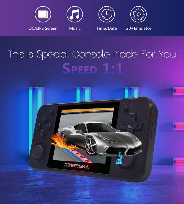 ANBERNIC RG350P Retro game Upgrade version 64Bit Emulator video game consoles HDMI handheld game players RG350P PS1 RG350 - Cards and Gadgets
