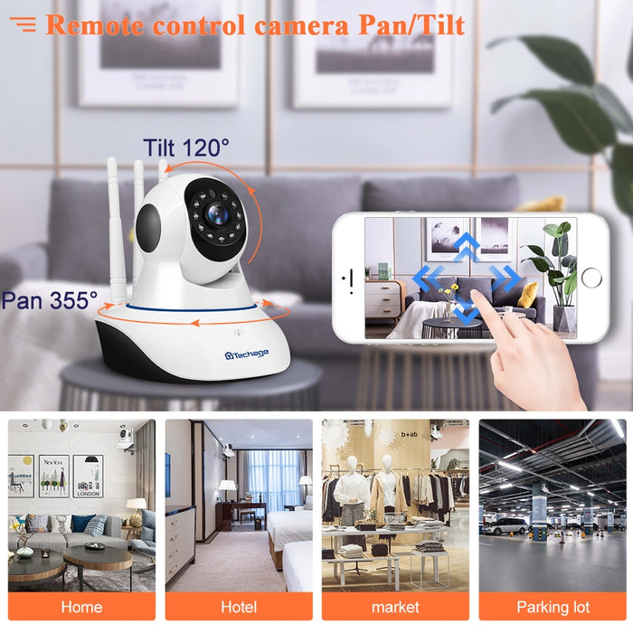 Yoosee 1080P Wireless IP Camera Pan Tilt 2MP Dome Indoor Two Way Audio CCTV WiFi Camera Baby Monitor Video Security Surveillance - Cards and Gadgets