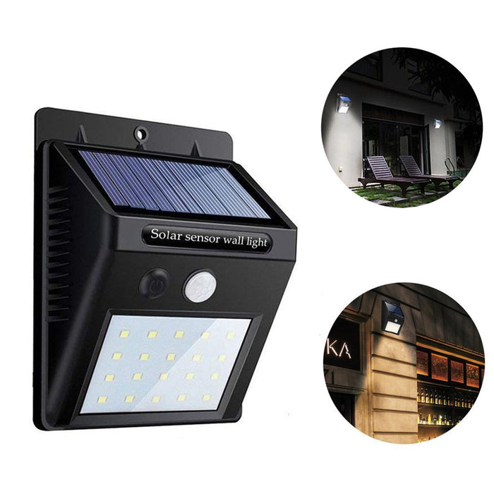 Waterproof 20 LED Solar Lights Motion Sensor Wall Light Outdoor Garden Yard Lamp - Cards, Collectibles and Gadgets - CCG LLC