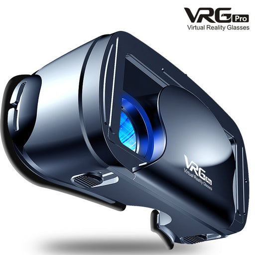 VR Glasses VRG Pro 3D Glasses Virtual Reality Full Screen Visual Wide-Angle VR Glasses For 5 To 7 inch Smartphone Devices - Cards and Gadgets