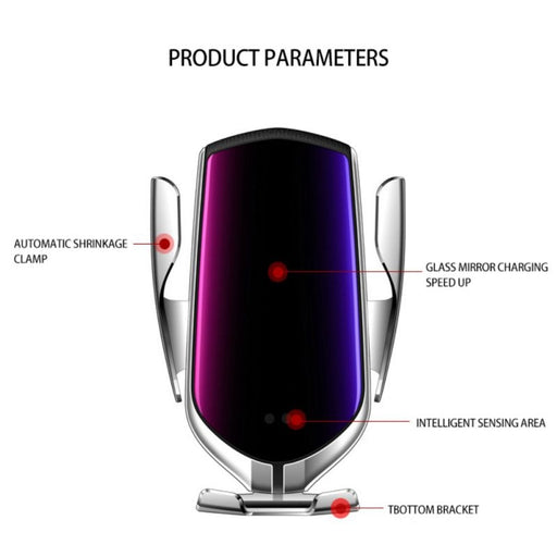 Automatic Clamping Wireless Charger - Cards, Collectibles and Gadgets - CCG LLC