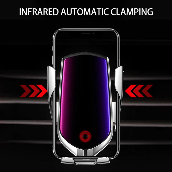 Automatic Clamping Wireless Charger - Cards and Gadgets