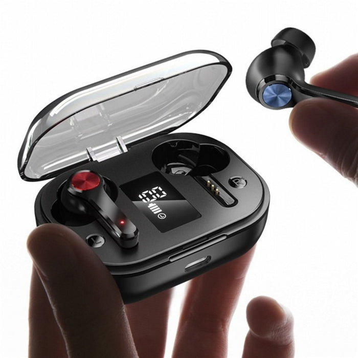 TWS Bluetooth Earphones HIFI Bass True Wireless Earbuds Waterproof In Ear Sport Headphones Stereo Headset PK tws i12 Air Pro 3 4 - Cards and Gadgets
