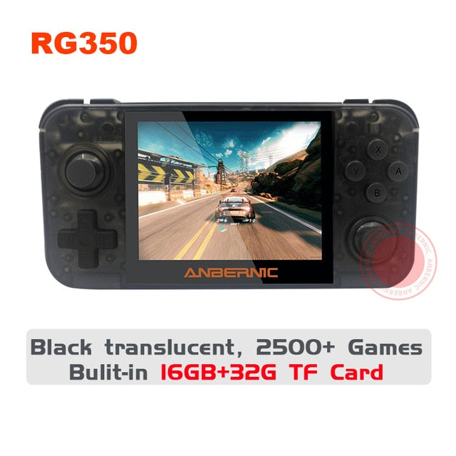 ANBERNIC RG280m handheld Retro Games Metal Shell System PS1 Arcade Games Handheld Game Player RG350/RG350M RG280console RG350P - Cards, Collectibles and Gadgets - CCG LLC