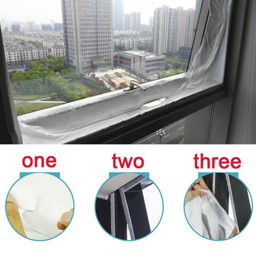 Airlock Window Sealing For Mobile Air Conditioners Soft Cloth Sealing Baffle Exhaust Air Dryers Smart Home Electronics Gadgets - Cards and Gadgets
