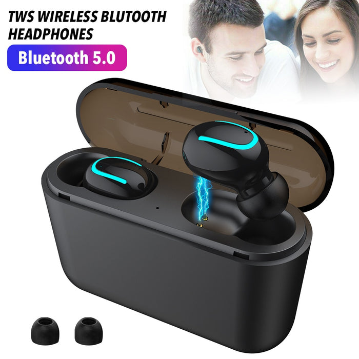 2600mAh IPX5 Waterproof Bluetooth 5 Earphones TWS Wireless Headphones Blutooth Earphone Handsfree Sports Earbuds Gaming Headset - Cards and Gadgets