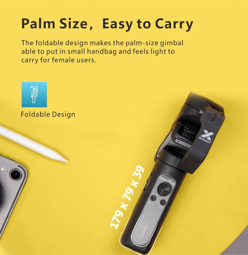 Hohem iSteady X 3-Axis Gimbal Stabilizer for Smartphone - Cards, Collectibles and Gadgets - CCG LLC