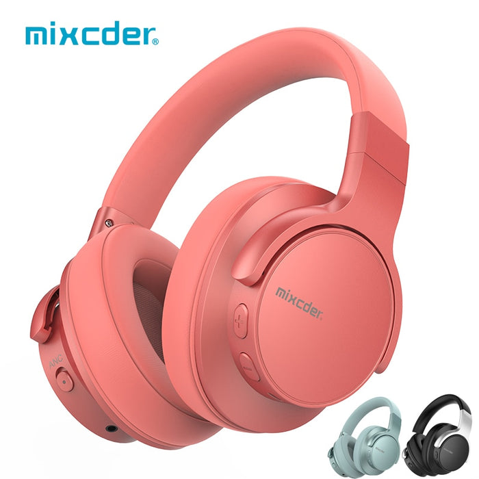 E7 Wireless  Bluetooth 5.0 Headphones with Active Noise Cancelling! - Cards and Gadgets