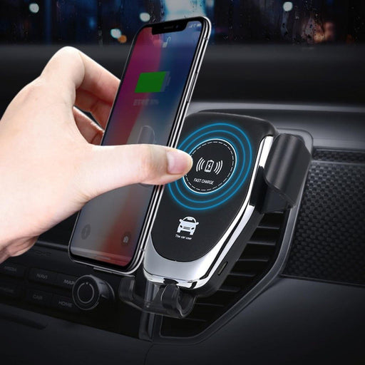 Ninja Dragon QI -X Universal Wireless Charger with Car Mount Holder - Cards and Gadgets