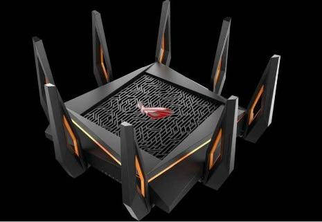 ROG GT-AX11000 Tri-band WiFi Gaming Router World's first 10 Gigabit Wi-Fi router with quad-core processor, 2.5G gaming port - Cards, Collectibles and Gadgets - CCG LLC