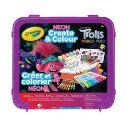 Trolls World Tour Neon Create & Colour Art Set - Cards and Gadgets
