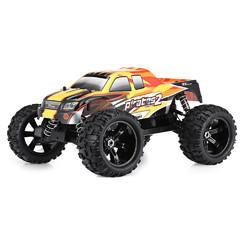 ZD Racing 9116 1/8 2.4G 4WD 80A 3670 Brushless Rc Car Monster Off-road Truck RTR Toy - Cards and Gadgets