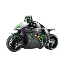 ZhengCheng 333-MT01B 2.4G 20km/h Rc Car Motorcycle 30 Degree 24.4*12.7*14cm With Flashlight - Cards, Collectibles and Gadgets - CCG LLC