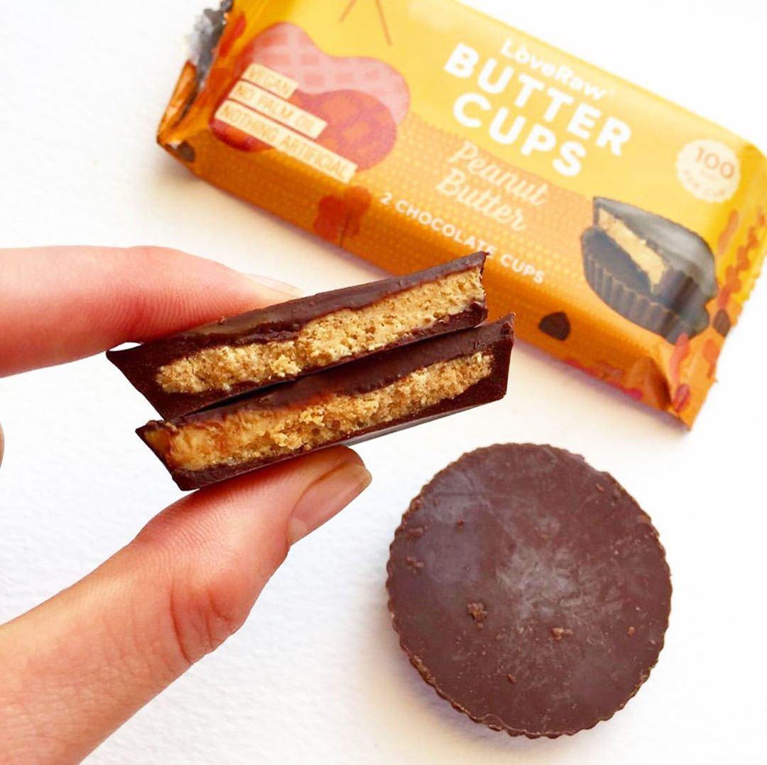 LoveRaw Peanut Butter Cups