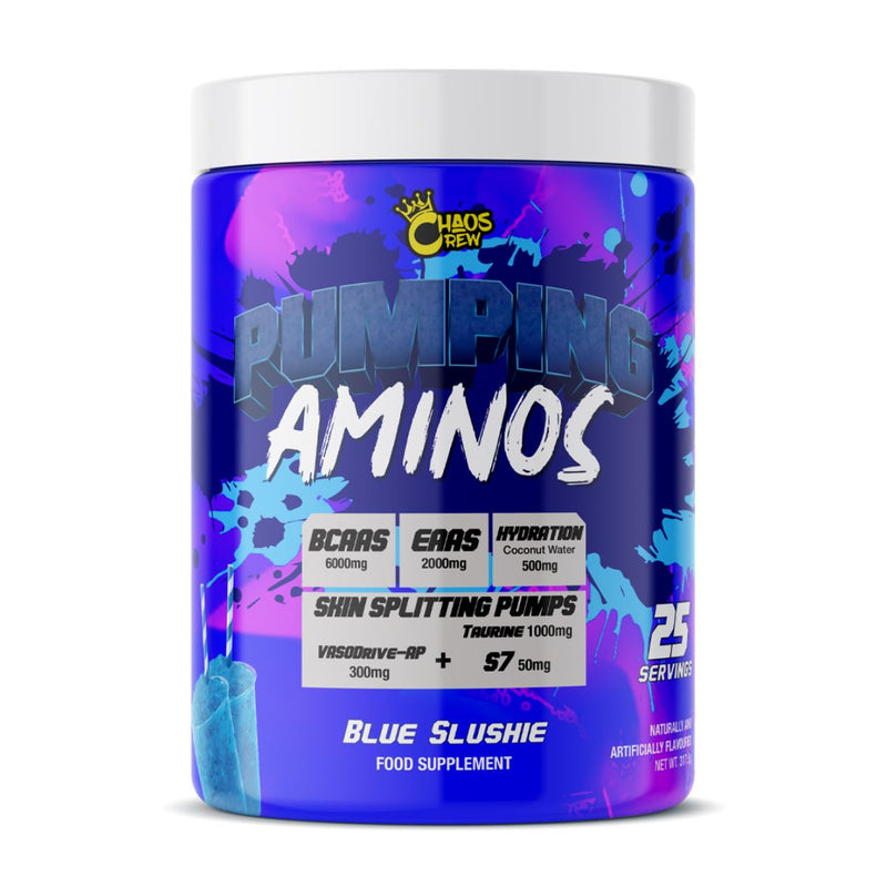 Pumping Aminos from Chaos Crew Supplements