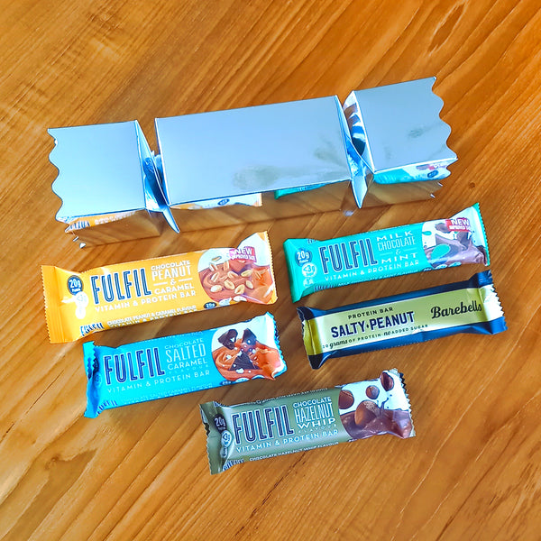 Protein Bar Christmas Cracker
