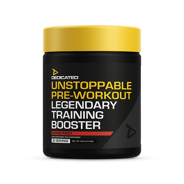 Dedicated Unstoppable Pre Workout