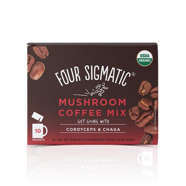 Four Sigmatic Muschroom Coffe Mix with Cordyceps (10 sachets)