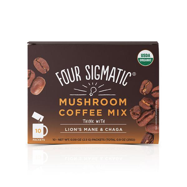 Four Sigmatic Mushroom Coffee Mix with Lion's Man - 10 sachets