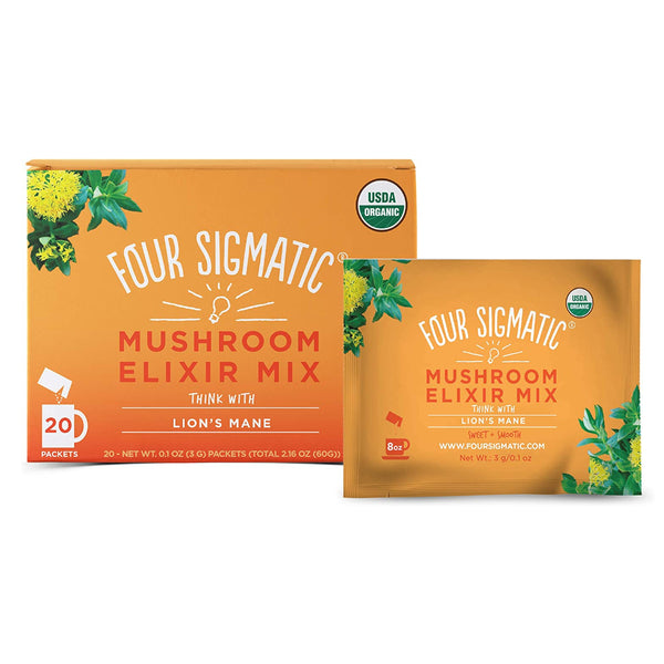 Four Sigmatic - Mushroom Elixir Mix with Lion's Mane