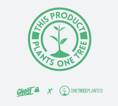 Ghost Lifestyle Greens - one tree planted