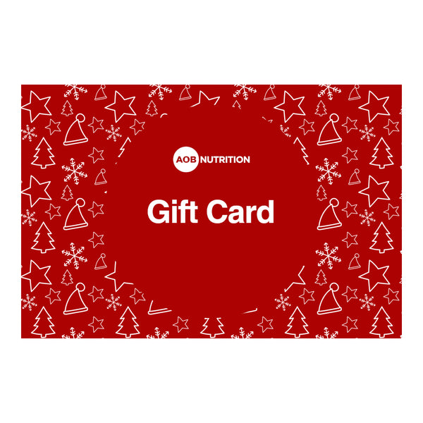 AOB Nutrition Gift Card