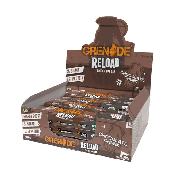 Grenade Reload Protein Flapjacks - 12x 70g