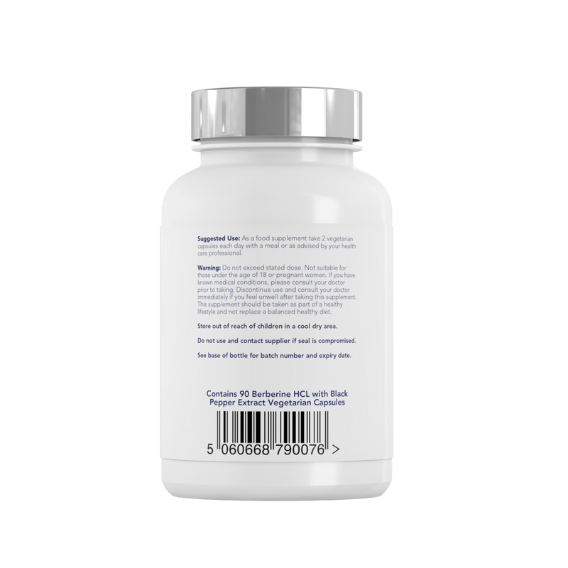 Berberine HCL - label