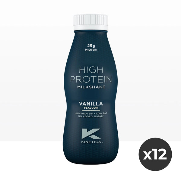 Kinetica High Protein Milkshakes - 12x 330ml