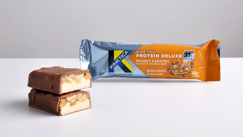 Kinetica Protein Deluxe Bar up close