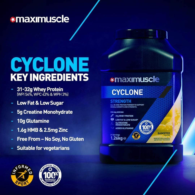 Maximuscle Cyclone - 1.26kg