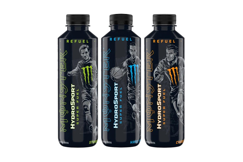 Monster Energy HydroSport - Three Flavours