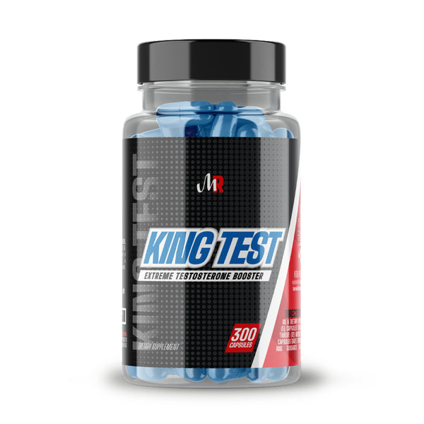 Muscle Rage King Test - 300 Capsules