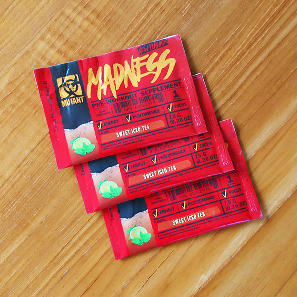 Mutant Madness Pre Workout (sachets)