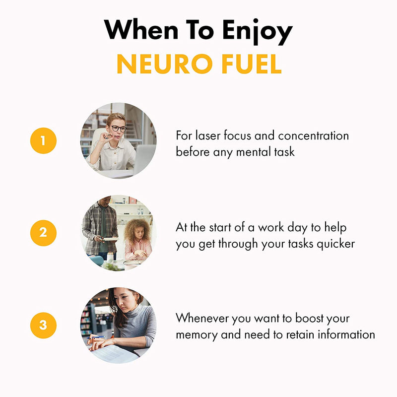 Neuro Fuel - when to enjoy