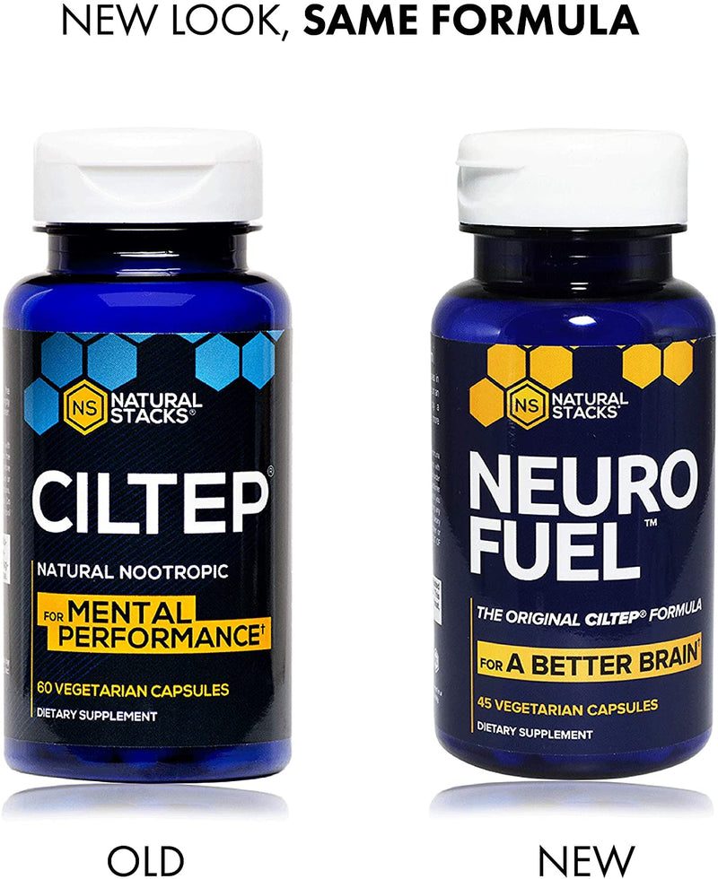 Neuro Fuel - the new name for Ciltep