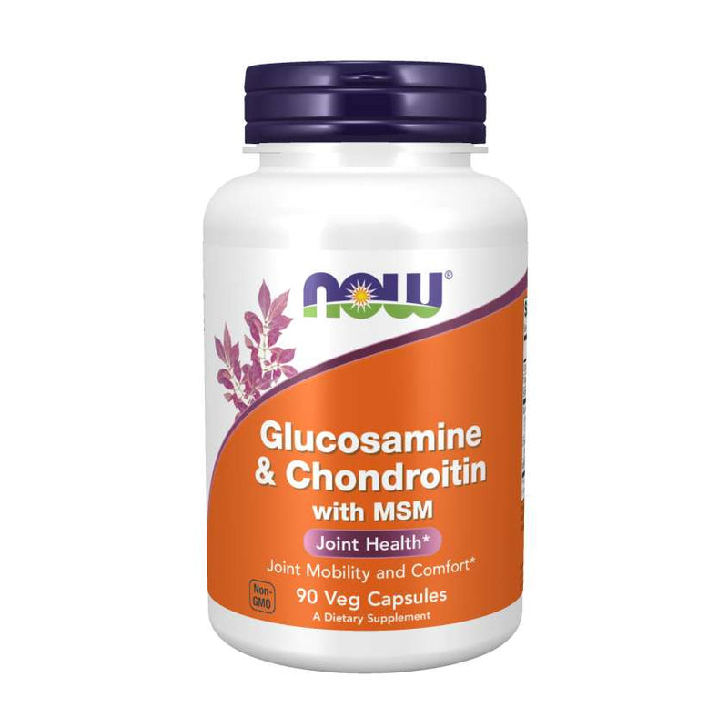Now Foods Glucosamine, Chondroitin & MSM - 90 Capsules