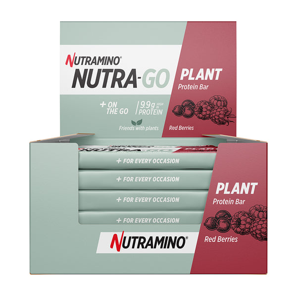 Nutramino Nutra-Go Plant Protein Bars