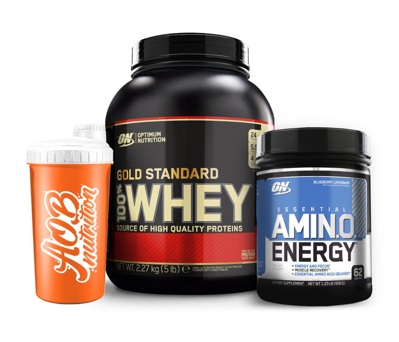 Gold Standard Stack - Optimum Nutrition Whey + Amino Energy (limited edition)
