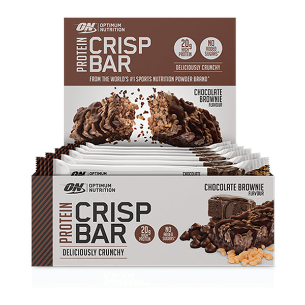 Optimum Protein Crisp Bars - 10x 65g
