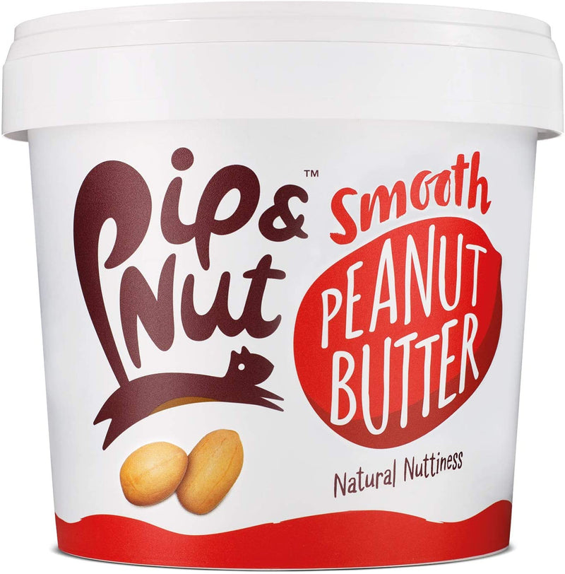 Pip & Nut Smooth Peanut Butter - 1kg