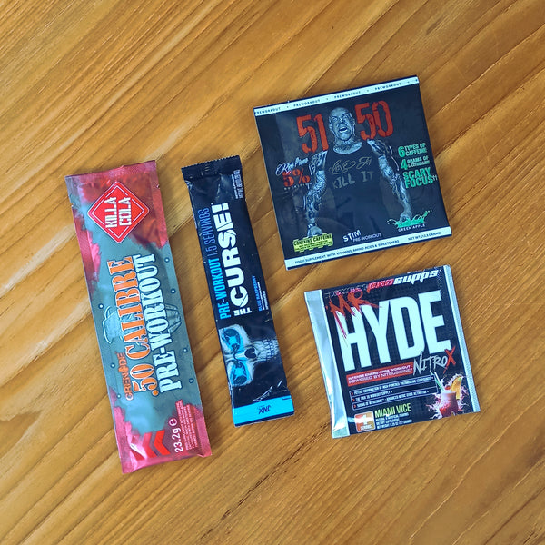 Pre-Workout Sample Pack