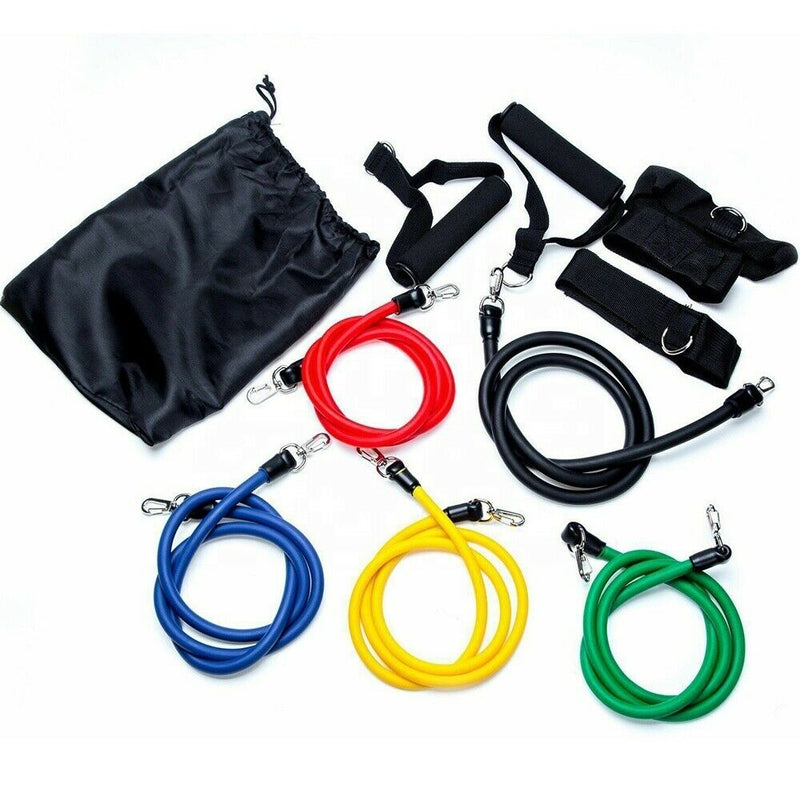 Resitance Tube Set (inc. ankle straps, handles and door anchor)
