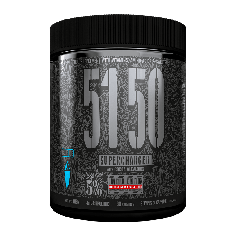 5150 Supercharged Pre-Workout - 366g