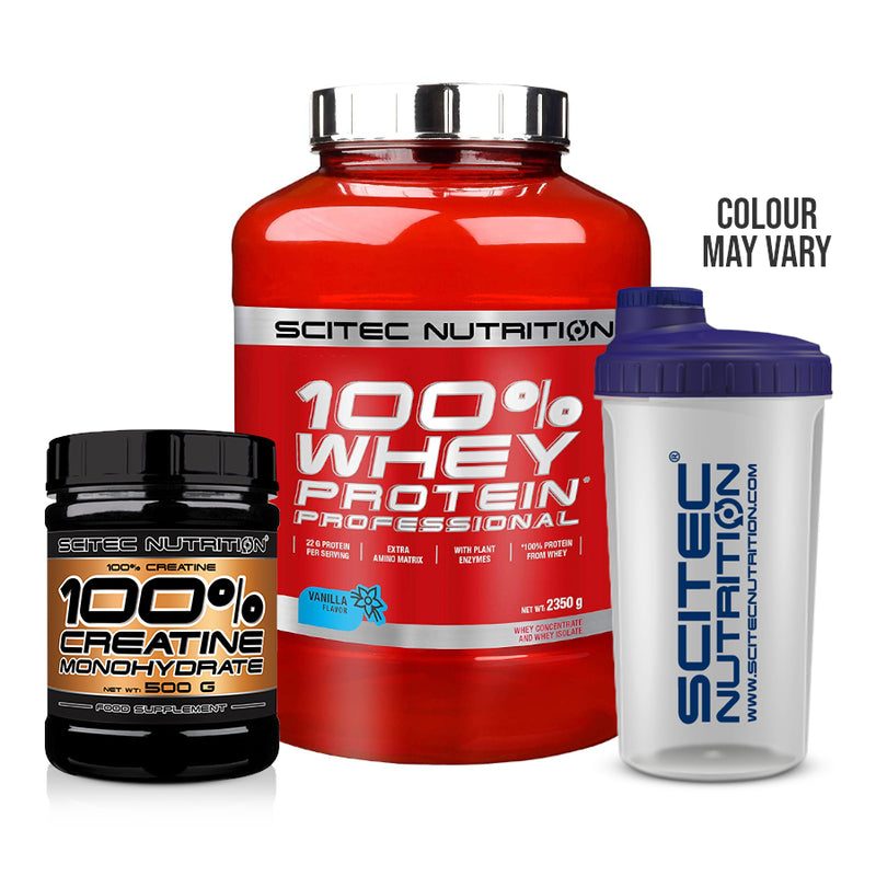 Scitec Whey & Creatine Bundle