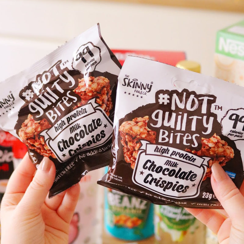 Skinny Food Co Chocolate Crispies Snack in real life