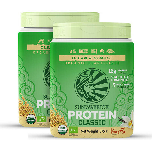 Sun Warrior Classic Protein Special Offer 2x 375g