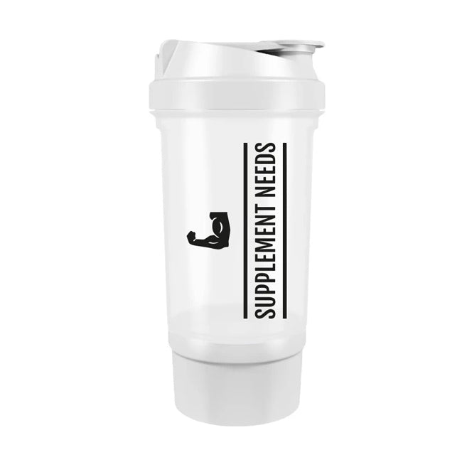 Supplement Needs Compartment Shaker - 500ml